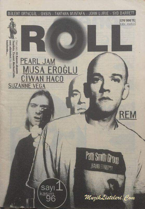 Roll-dergi-sayi-1-kapak-kasim-1996