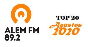 Alem-FM-agustos-2020-top20