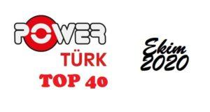 PowerTurk fm - top 40 - Ekim-2020