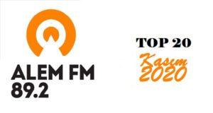 Alem-FM-kasim-2020-top-20